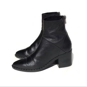 "Treasure & Bond Black ""Farrah"" Studded Ankle Boot"
